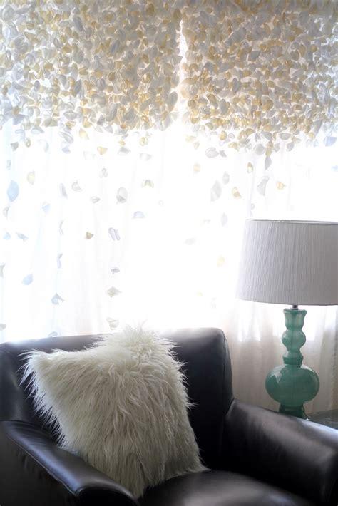 flutter curtains diy anthropologie knock off flutter curtains