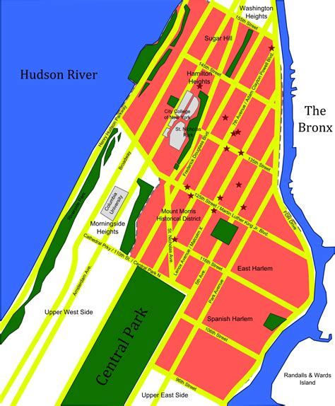 map of new york city crime rates crime in harlem