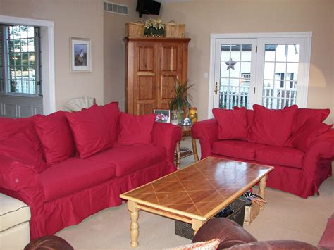 red sofa slipcovers clearance red slipcover sofa the fast way transform your home with