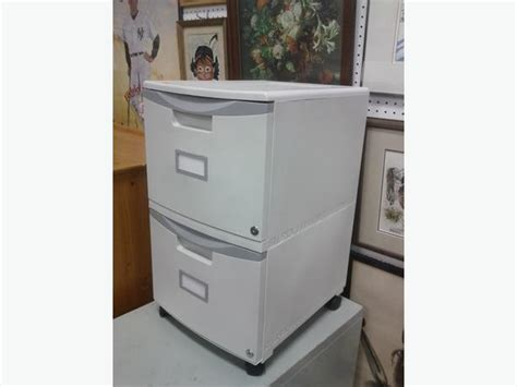 plastic 2 drawer filing cabinet on casters ladysmith cowichan
