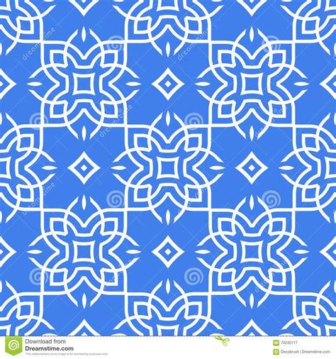pattern types in art arabic seamless pattern line art stock vector
