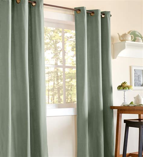 double windows curtains 84 quot l energy efficient draft blocking homespun double