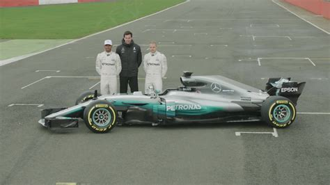 sky sports f1 exclusive the mercedes w08 on track f1 news