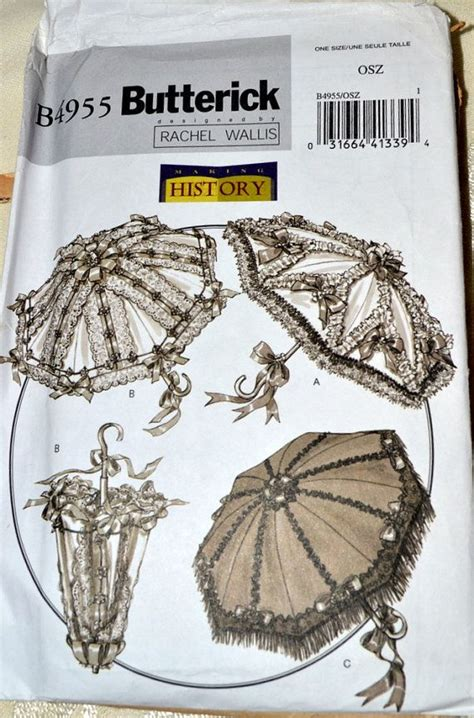 Umbrella Pattern Sewing | sewing pattern butterick 4955 parisol umbrella covers