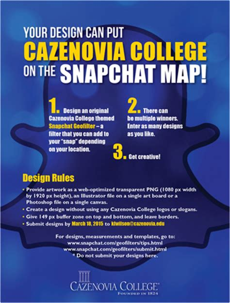 your geo filter design can put cazenovia college on the