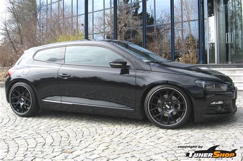 volkswagen scirocco black vw scirocco with black bbs ch r wheels tunershop