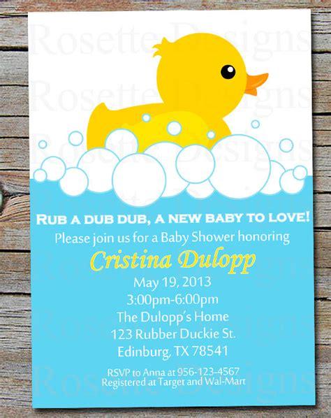 duck baby shower invitation templates pdf rubber duckie baby shower invitation rubber duck