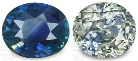 Colour Change Safir Sapphire color change bi color sapphires the chameleon gems