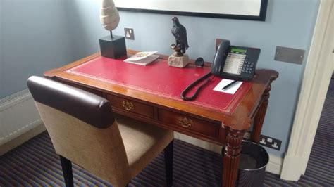 Balmoral Desk by The Balmoral Hotel Where J K Rowling Finished Harry