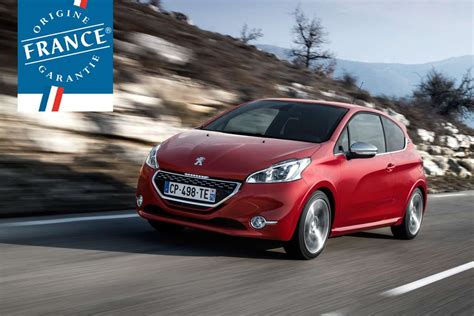 peugeot made peugeot 208 gti et xy labellisees made in france
