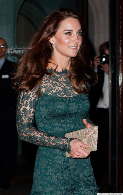 kate middleton c section kate middleton nails the princess look in green lace dress