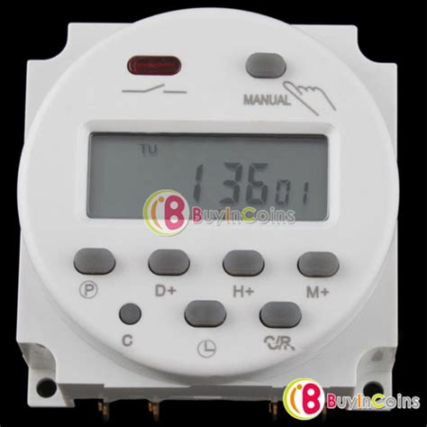 Timer Ac Digital Kitani 220volt ac 220v 240v digital lcd power programmable timer time