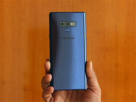 9 Samsung Note by Galaxy Note 9 Gets Software Update Which Brings A Number
