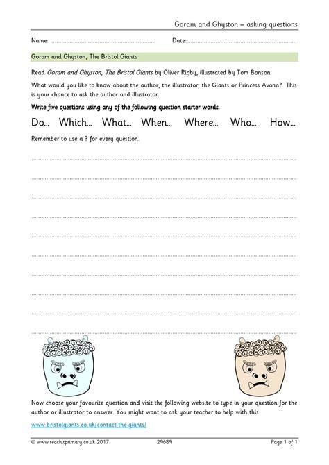 Story Planning Worksheet