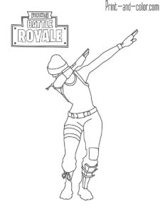 Fortnite | Coloring pages, Dancing drawings