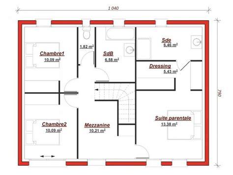 Plan Maison Plain Pied 5 Chambres 4198 by Les 13 Meilleures Images 224 Propos De Plan Maison Sur