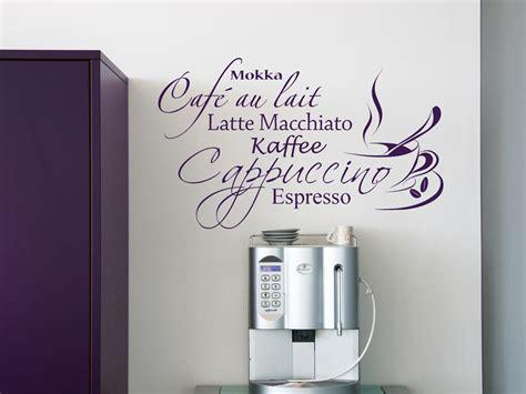 Kaffee Pad Maschinen 1782 by Dekoratives Kaffee Wandtattoo Wandtattoo Net
