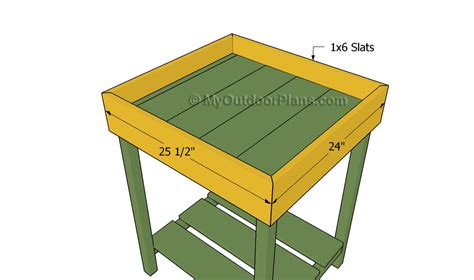 herb planter box plans free outdoor plans diy shed