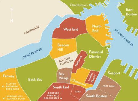 sections of boston boston neighborhoods map adriftskateshop