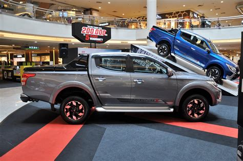 mitsubishi malaysia mitsubishi triton pickup gets enhanced warranty and