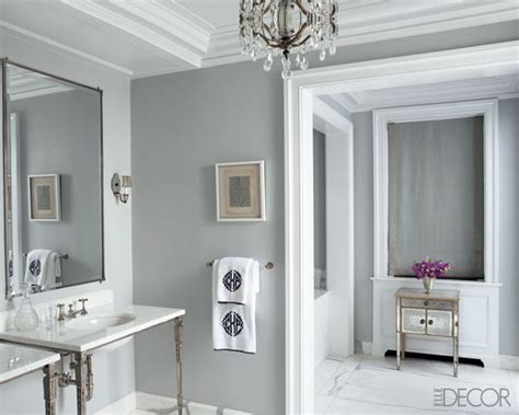 gray painted walls popular bathroom wall paint colors