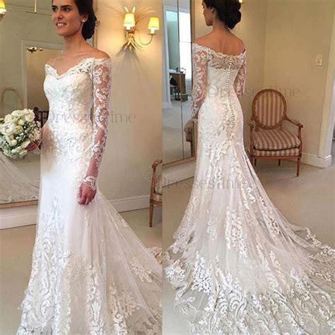 Shoulder Mermaid Dress the shoulder mermaid wedding dresses wedding dresses