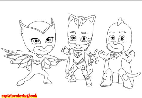 Disney Pj Masks Coloring Pages Free Download Coloring Page Pj Masks Catboy Coloring Pages Free