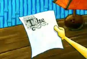 Spongebob Essay Episode Cut by The Picture My Friend Sent When I Asked How The Essay Was Going