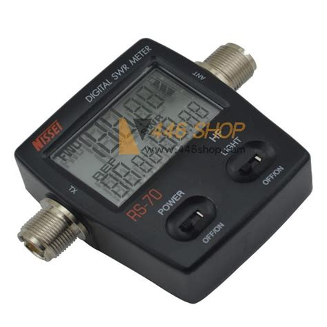 Nissei Digital Swr Power Meter Rs 50 Made In Taiwan nissei nissei fwd rev power swr meter rs 70 hf 1 6 60mhz for two way radio radio accessory swr