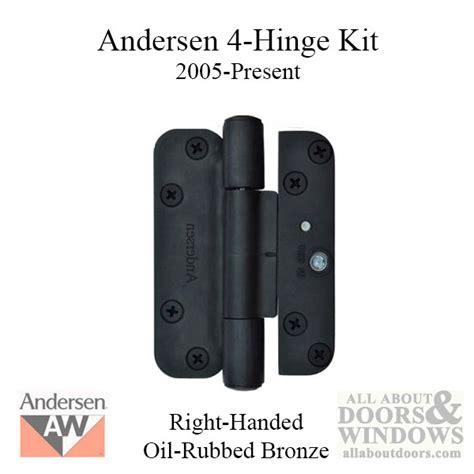 andersen 2 panel asr frenchwood patio door 1992 4 hinge kit 2005 present right rubbed bronze