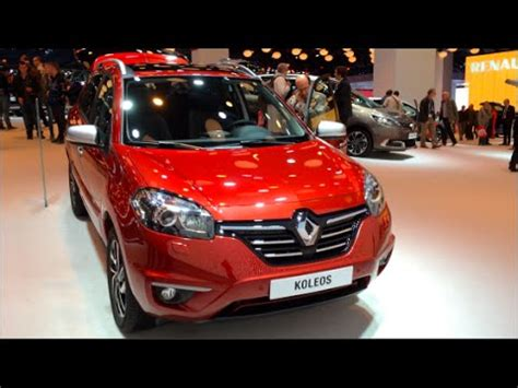 renault koleos 2015 interior renault koleos 2015 in detail review walkaround interior