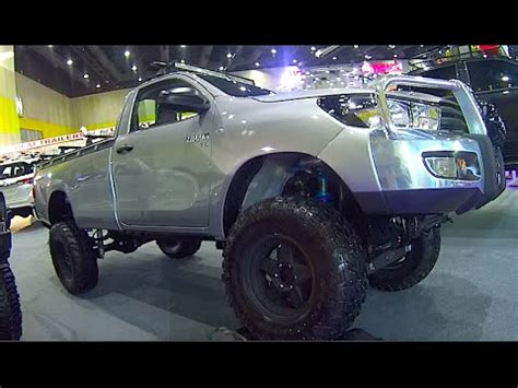 2015, 2016 toyota hilux custom modified, lifted truck, mud