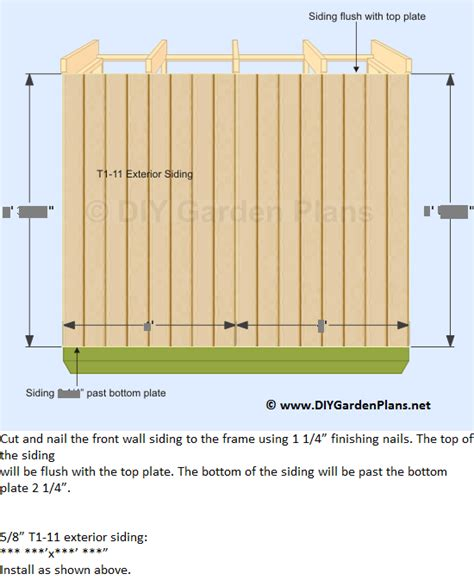 Lean To Storage Shed Plans by Diy Lean To Storage Shed Plans