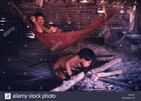 yanomami shabono communal dwelling dwellings family yanomami indians in molaca communal dwelling