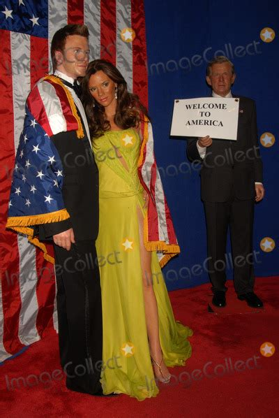 Beckham Is A Wax Figure No Kidding by George Bush Pictures And Photos