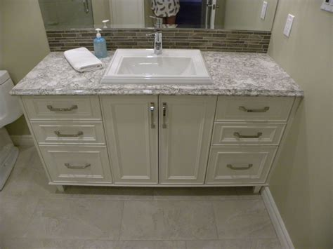 granite and marble quartz bathroom countertops