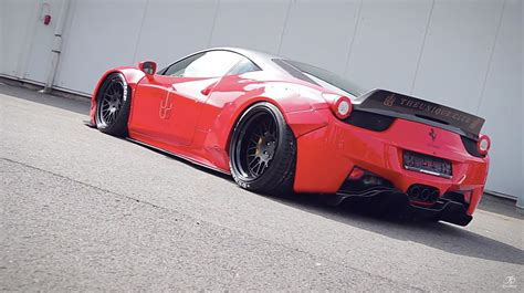 Auto Tuning Jp by Liberty Walk 458 Italia Jp Performance