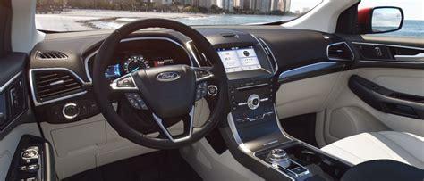 ford edge exterior  interior color options  trim kovatch ford