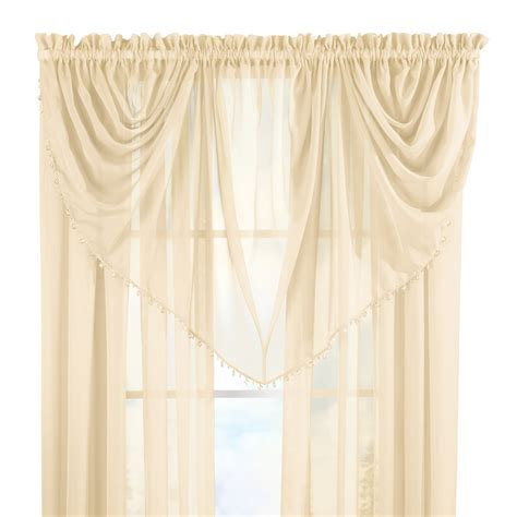 beaded valance beaded waterfall curtain valance by collections etc ebay