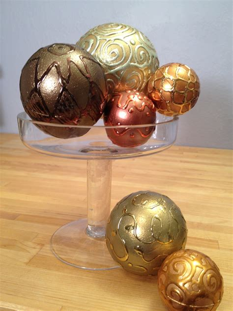 decorated balls metallic foil new year s spheres smoothfoam