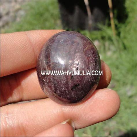 Batu Akik Merah Putih Big Size batu safir ruby gondola 4 wahyu mulia