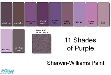rebelxgirl s sherwin williams purple collection