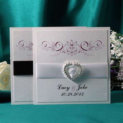 flat card wedding invitations personalized classic style flat card invitation cards set