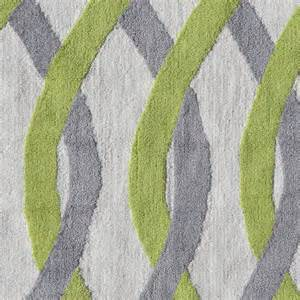 tangled green and gray rug by pop accents