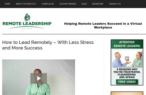 attentive leadership lead with a healthy self image books attention remote leaders this site is for you