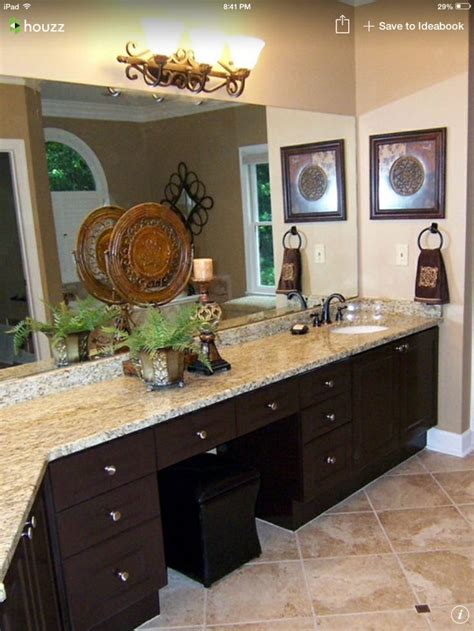 dark bathroom colors sw latte wall color st cecilia granite dark stained