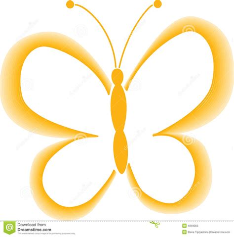 Foto Vector mariposa amarilla vector foto de archivo imagen 4849050
