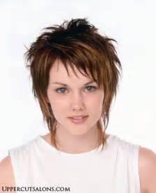 shaggy style hair cut short shag hair styles