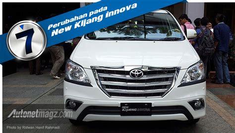 Lu Belakang Mobil Kijang Innova 7 Perubahan Pada Toyota New Kijang Innova Facelift 2013