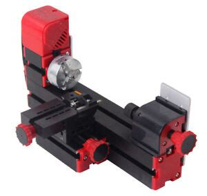 mini motorized lathe machine  diy tool metal